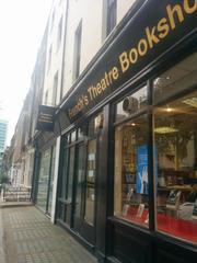 ロンドンの演劇専門書店