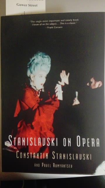 オペラ演技指導者としてのスタニスラフスキー(1)