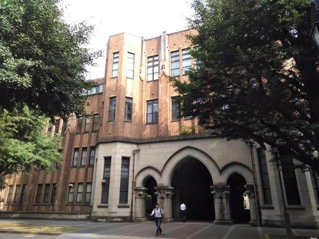 東京大学にて